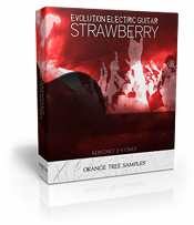 Evolution Electric Guitar - Strawberry sample library for KONTAKT