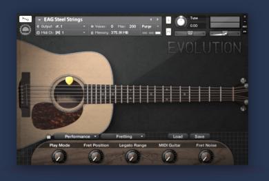NEW Evolution Acoustic Guitar Steel Strings for KONTAKT 4/5 from ...