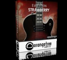 دانلود رایگان وی اس تی گیتار الکتریک Evolution Strawberry Electric Guitar