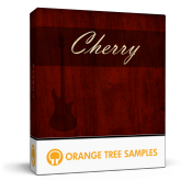 Cherry Electric Bass sample library for Kontakt