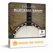 Evolution Bluegrass Banjo sample library for Kontakt