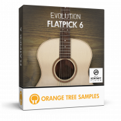 Evolution Flatpick 6 sample library for Kontakt
