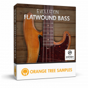 Evolution Flatwound Bass sample library for Kontakt