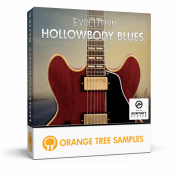 Evolution Hollowbody Blues sample library for Kontakt