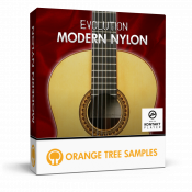 Nylon acoustic guitar for Kontakt