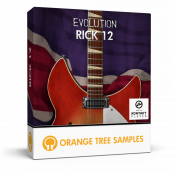 Evolution Rick 12 sample library for Kontakt