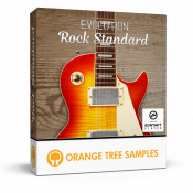 Evolution Rock Standard sample library for Kontakt