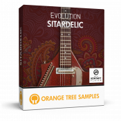 Evolution Sitardelic sample library for Kontakt