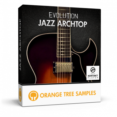 Jazz archtop guitar for Kontakt