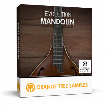 Ultra-realistic mandolin for Kontakt