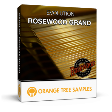 Evolution rosewood grand orange tree samples