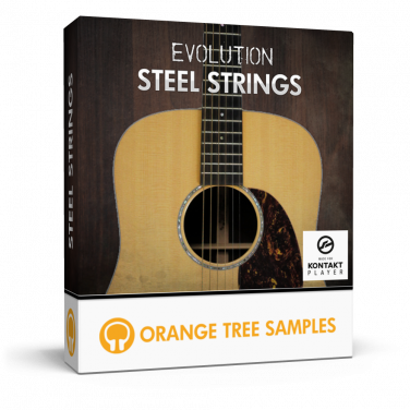 Warm steel string acoustic guitar for Kontakt