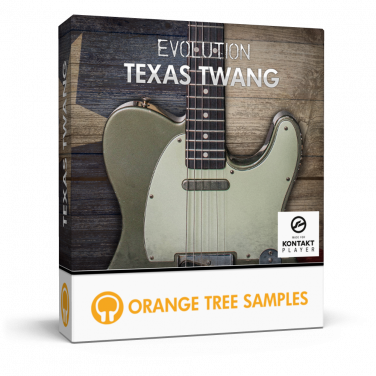 Tele-style electric guitar for Kontakt