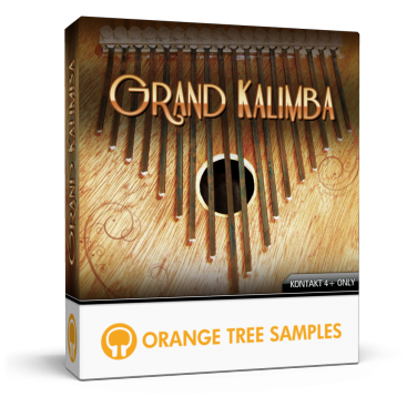 Detailed kalimba for Kontakt