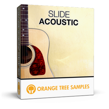 Expressive acoustic slide guitar for Kontakt