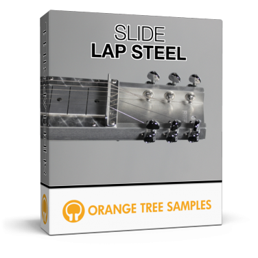 Detailed lap steel guitar for Kontakt