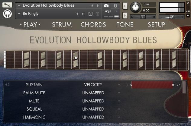 Evolution Hollowbody Blues :: Orange Tree Samples