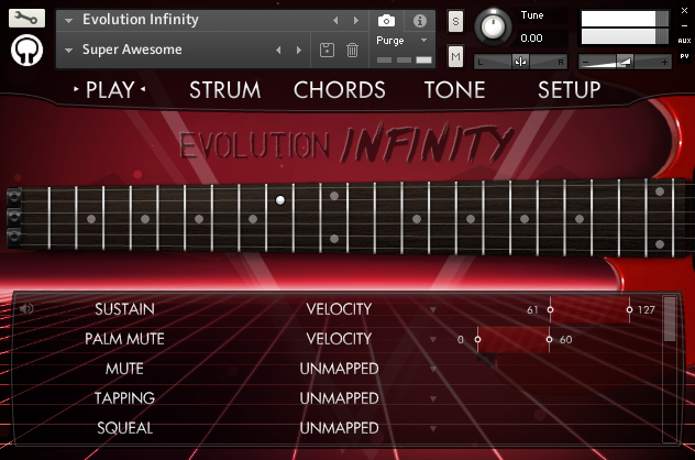 Evolution Infinity :: Orange Tree Samples